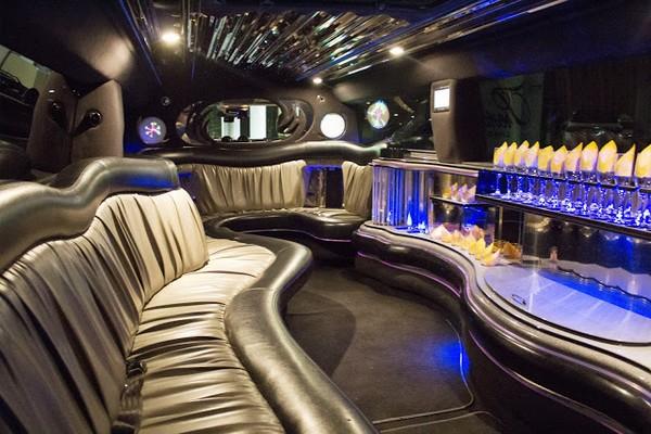 Intérieur Limousine Las Vegas