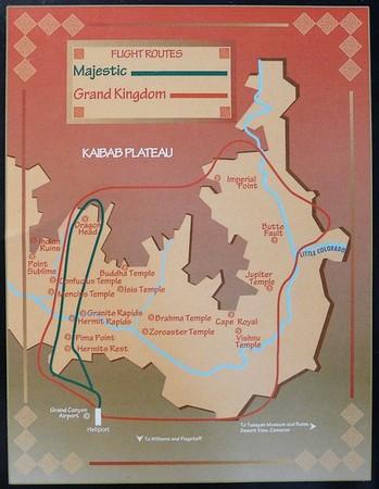 Plan de vol Majestic Tour Papillon