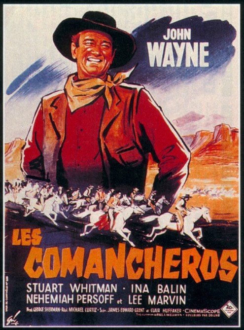 Affiche film Les Comancheros
