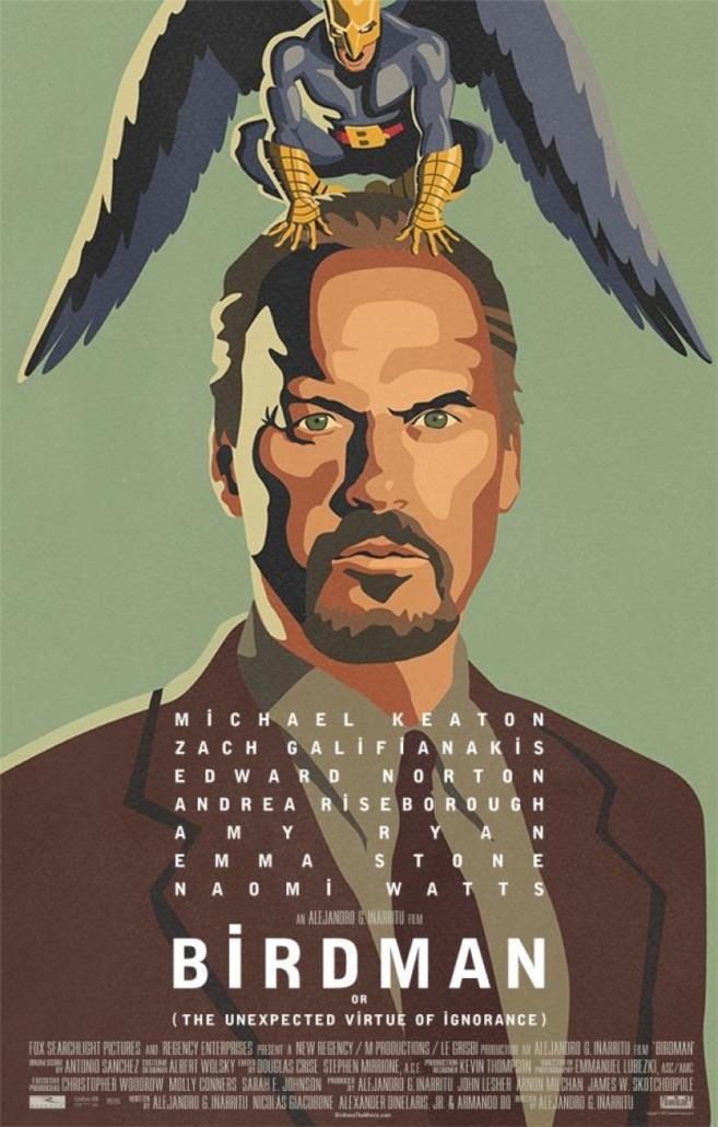 Affiche film Birdman