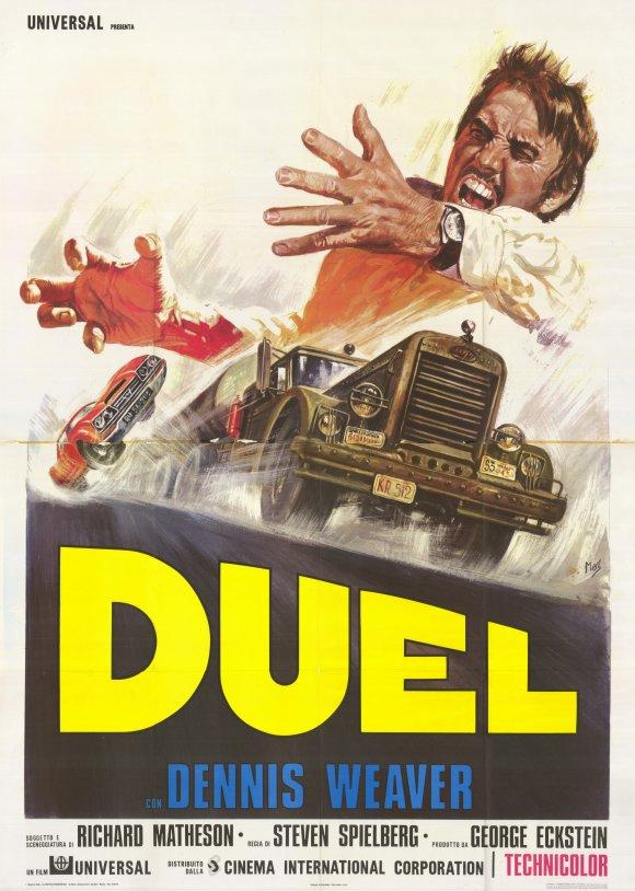 Affiche film Duel