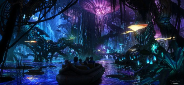 Concept art, Walt Disney Imagineering