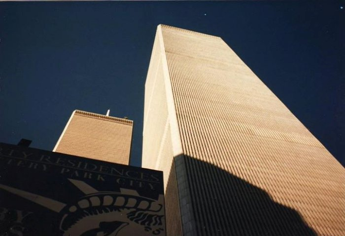 Les Twin Towers en 2000 New York