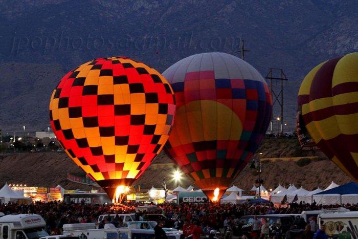 Festival de montgolfières à Albuquerque
