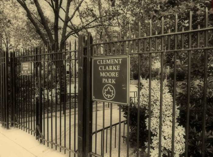 Clement Clark Moore Park, Chelsea New York
