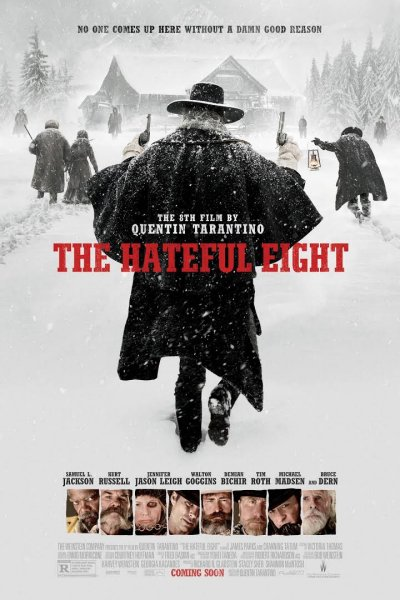 Affiche film Les huit salopards