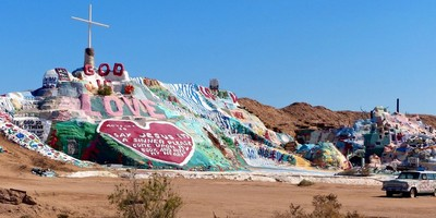 Salvation Mountain Californie