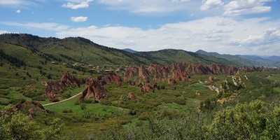 Roxborough State Park Colorado