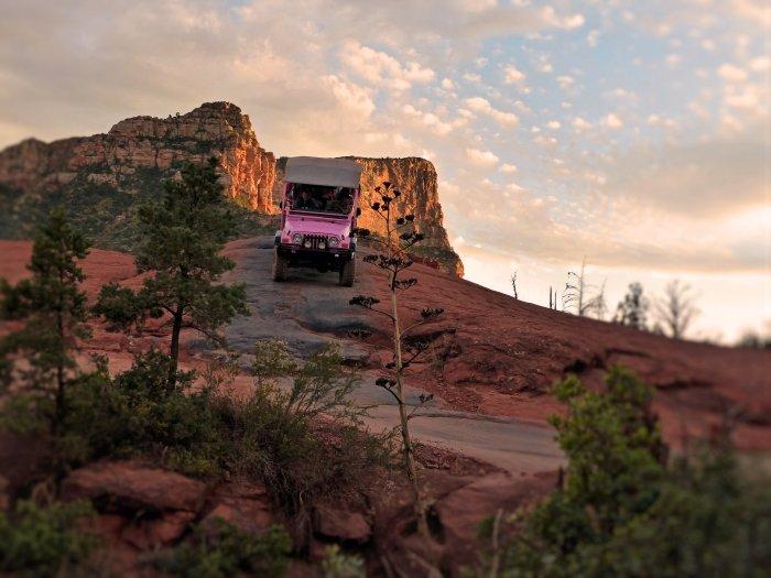 Pink Jeep Sedona