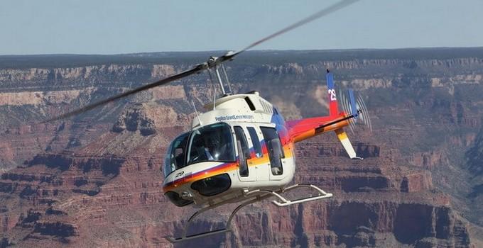 Hélicoptère Grand Canyon