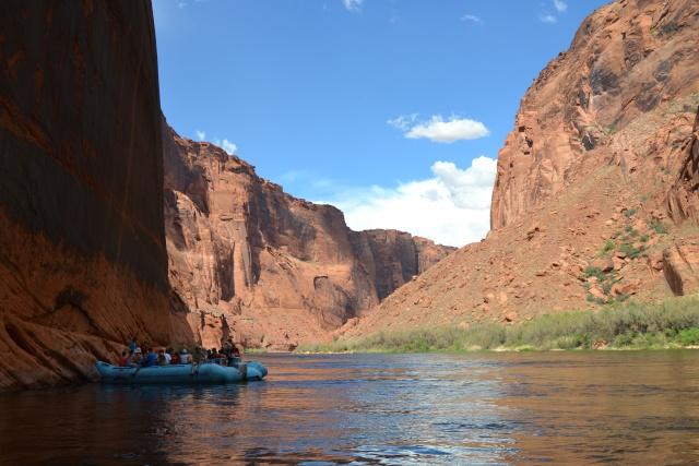 Rafting sur le Colorado