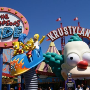 Krustyland Universal Studios Hollywood
