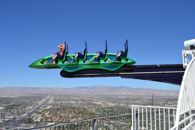 Attractions au sommet de la Stratosphere tower Las Vegas