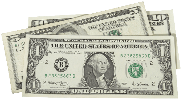Billets dollars américains