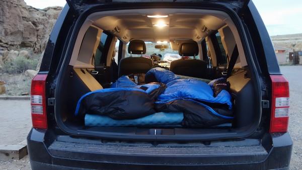 dormir dans sa voiture aux USA