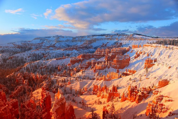 Hiver Bryce Canyon