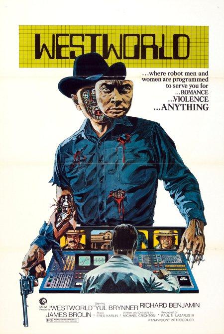 Affiche film Westworld
