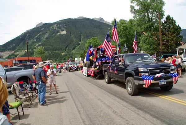 4 juillet Silverton Colorado