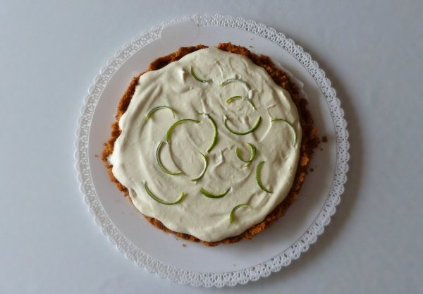 Key Lime Pie vue du dessus