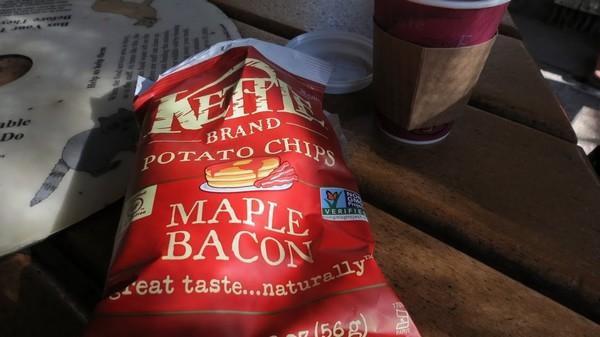 Chips bacon érable