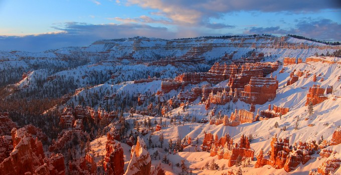 Climat Bryce Canyon