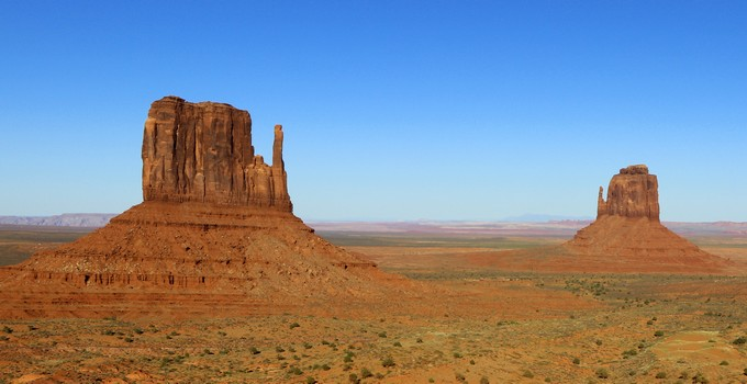 Climat de Monument Valley