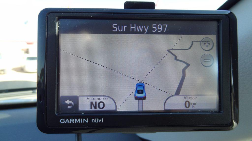 GPS road trip usa