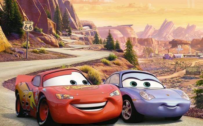 Route 66 Cars Disney Pixar