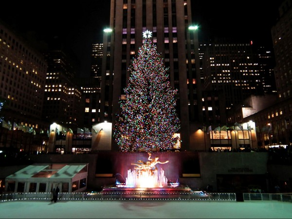 Sapin Rockfeller Center New York