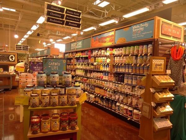 Supermarché bio américain