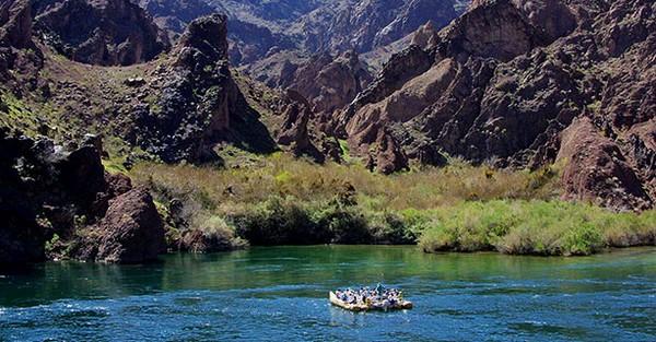 Rafting sur le Colorado
