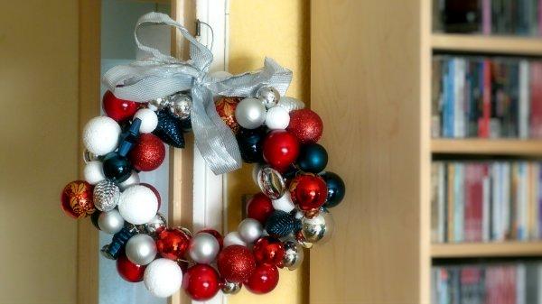 Couronne de Noël DIY