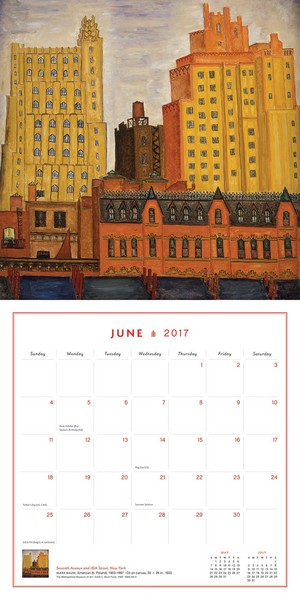 Calendrier 2017 New York in Art