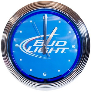 Horloge néon Bud Light