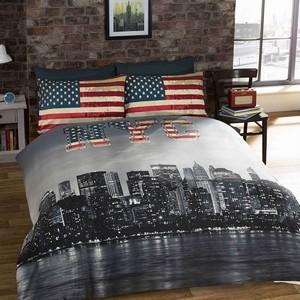 Parrure de lit New York USA