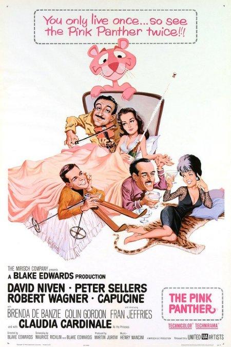 Affiche film la Panthère Rose
