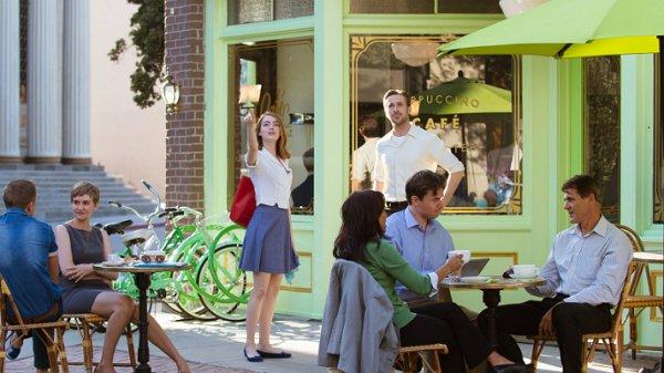 La La Land coffee shop Studios Warner