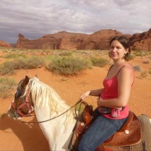 Randonnée à cheval à Monument Valley