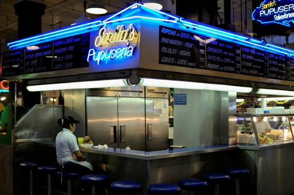 Sarita's Pupuseria at Grand Central Market