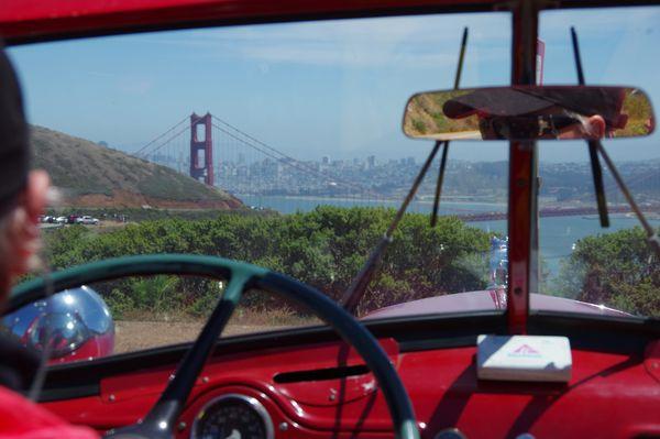 Visite de San Francisco en camion de pompiers