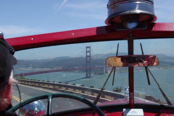 Visite San Francisco en camion de pompiers