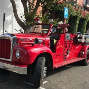 Camion de pompiers San Francisco