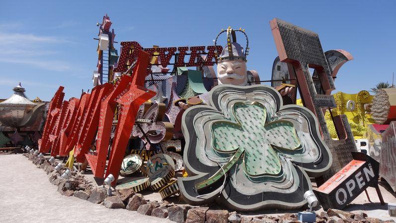 Visiter le Neon Museum à Las Vegas