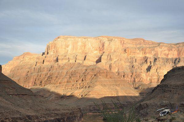 Séquence photos et zentitude au fond du Grand Canyon au Sunset