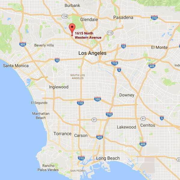 Localisation Hôtel : Hollywood City Inn