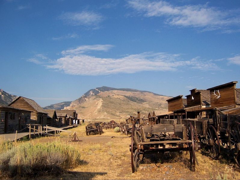 Visiter Old Trail Town dans le Wyoming