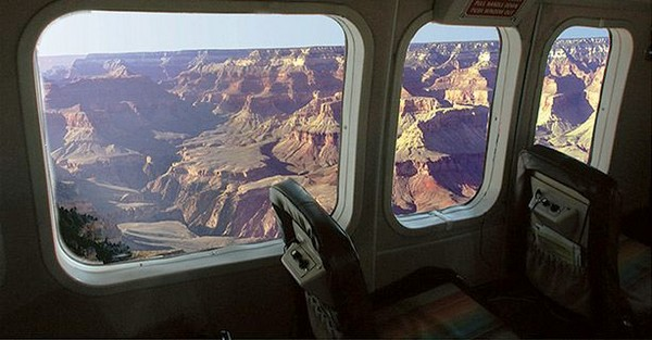 Cabine avion Grand Canyon