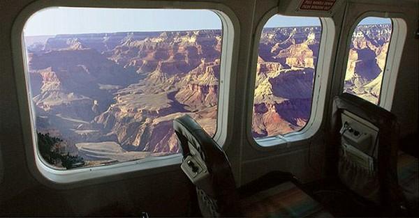 Cabine avion Grand Canyon