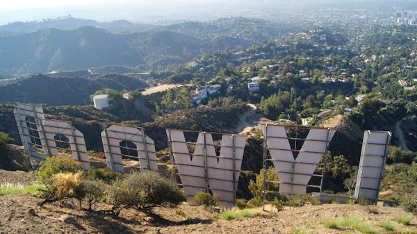 Vue depuis le Hollywood Sign