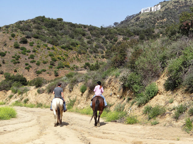 Randonnée à cheval vers le Hollywood Sign
